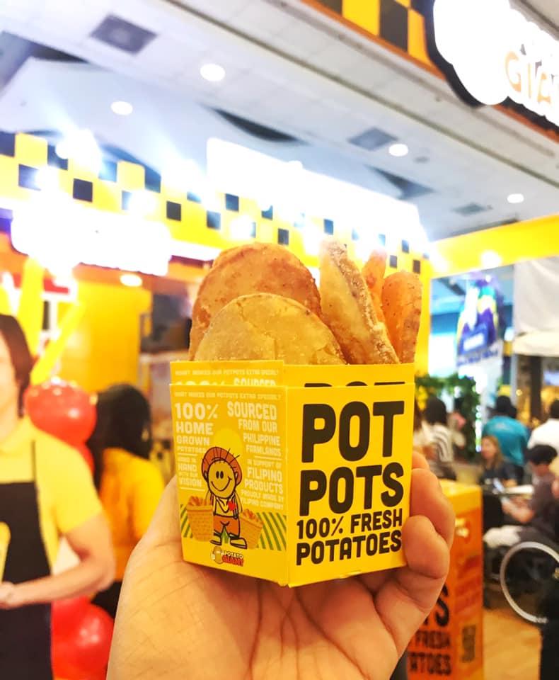 Potato Giant's potpots