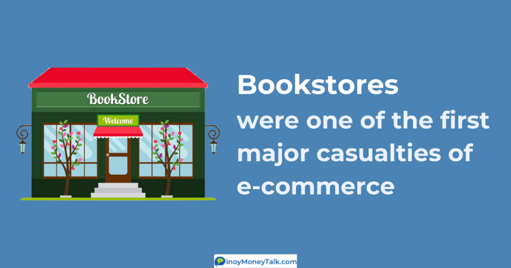 "In 1995, Amazon envisioned to become the ""biggest bookstore in the world"""