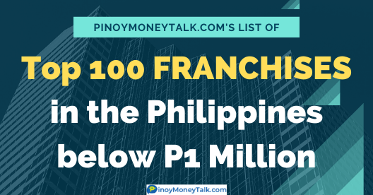 Best franchise business in the Philippines below P1 million