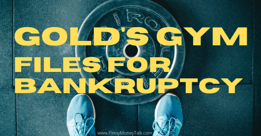Gold's Gym bankrupt; Philippine branches closed?