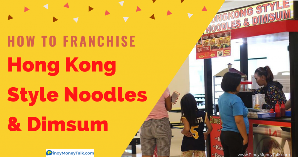 How to franchise HongKong Style Fried Noodles