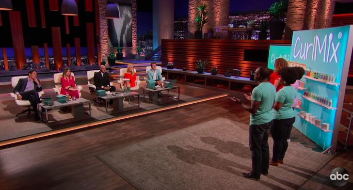 Curl Mix pitch on Shark Tank