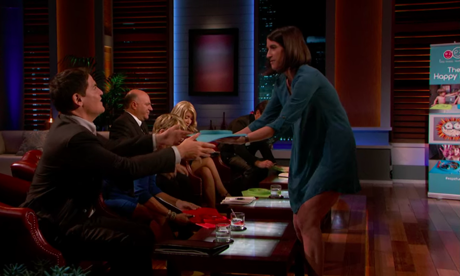 In Shark Tank, Lindsey pitched for $1 million in exchange for 5% ownership in her company EZPZ