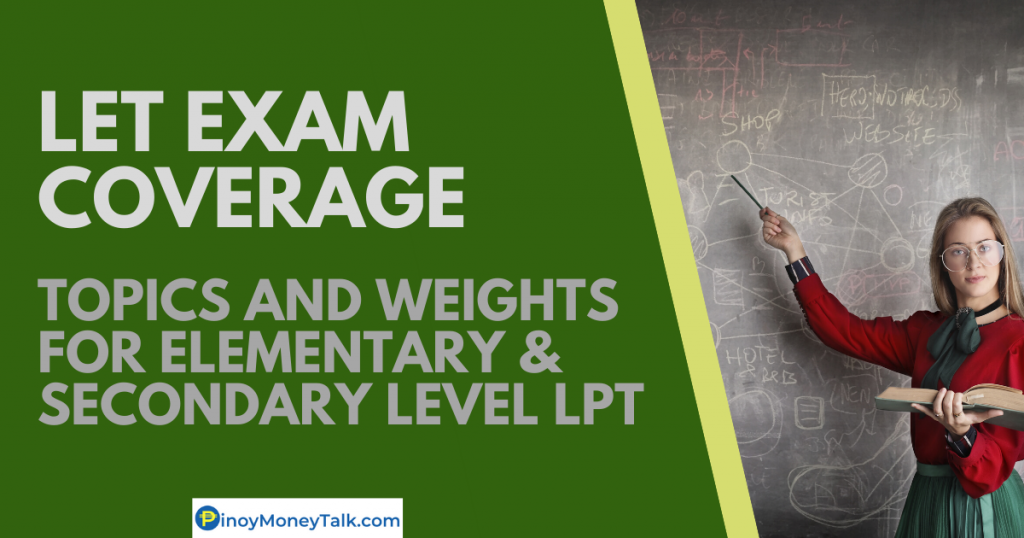 LET Exam LPT Coverage