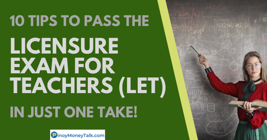 Tips to pass the LET exam in the Philippines