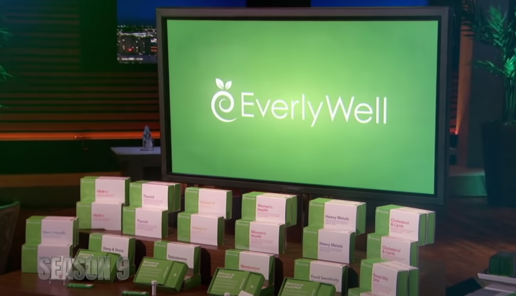 EverlyWell Shark Tank update