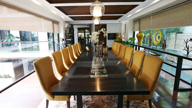 Pacquiao's house in Forbes Park for sale