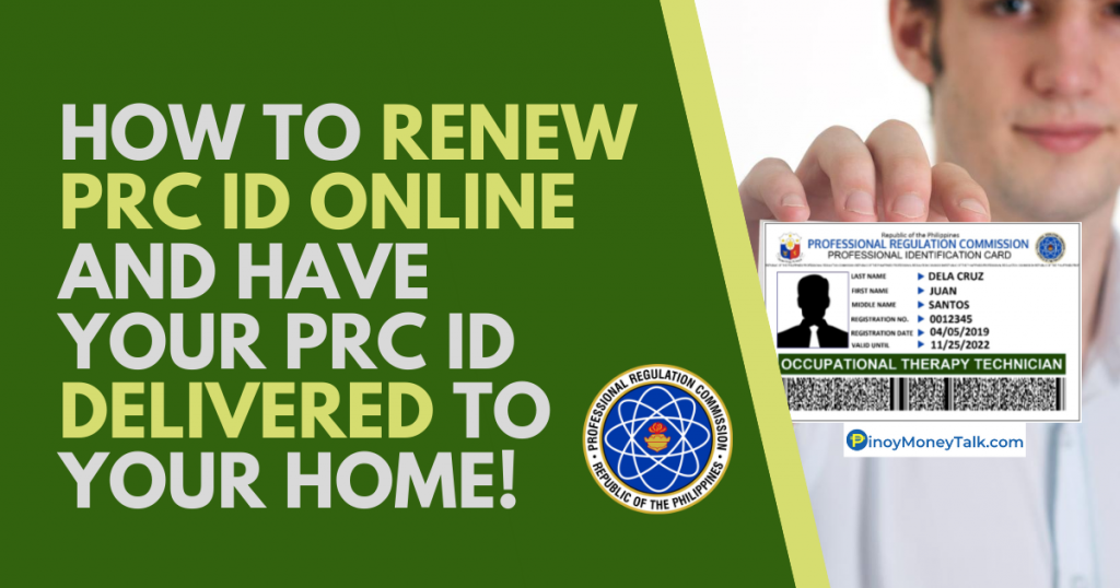 How to renew PRC ID online
