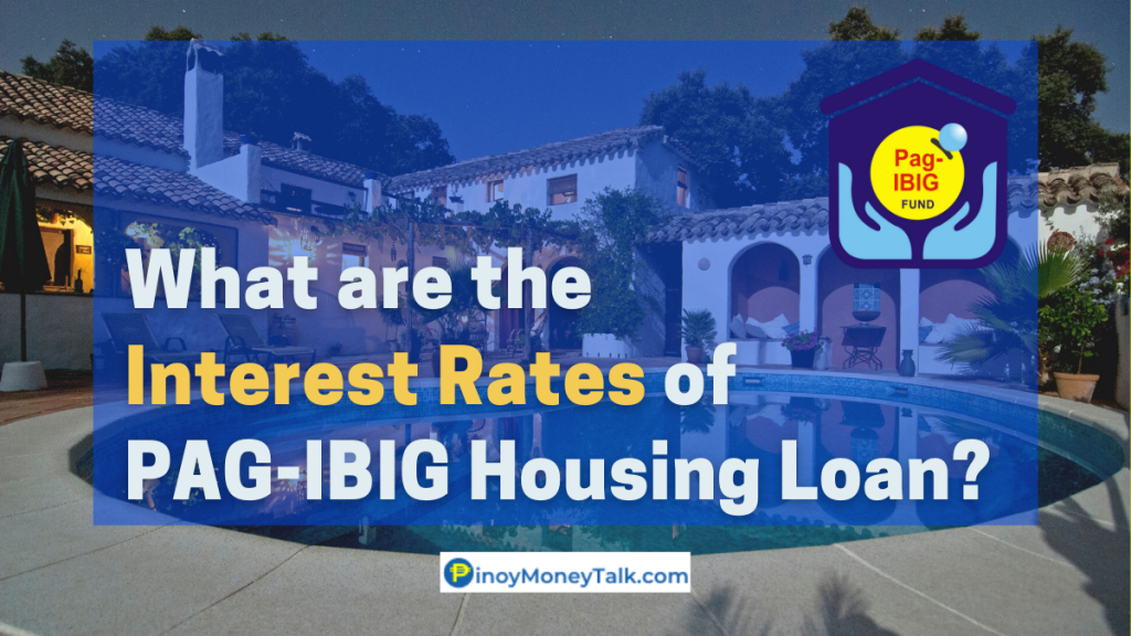 PAGIBIG Fund's housing loan interest rates
